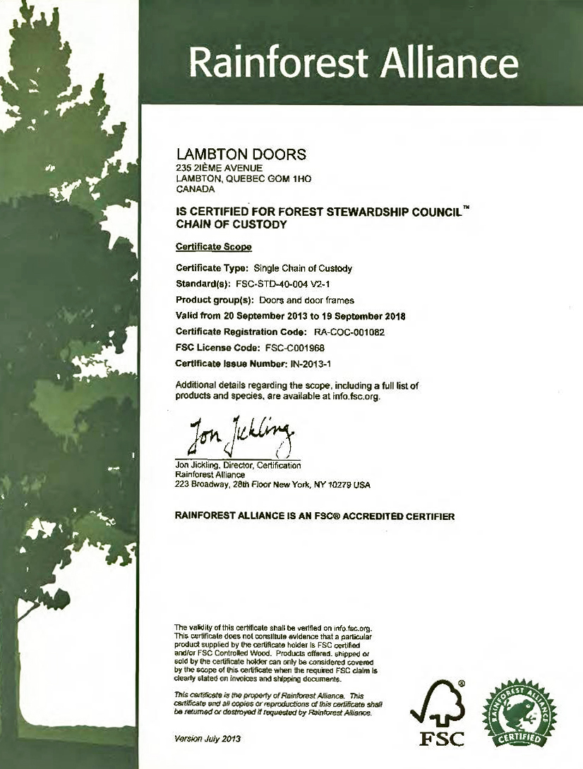 LAMBTON_DOORS_Rainforest_Allianceang_Certificate-2013