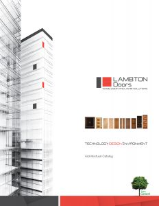 ARCHITECTURAL CATALOG ENGLISH